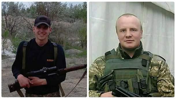 Украинские воины Виктор Ферлиевич и Ярослав Дашкевич, которые накануне погибли в Донбассе