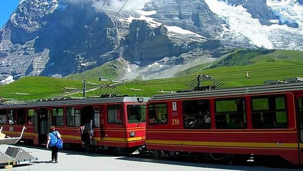 Національну залізницю Швейцарії визнано найкращим залізничним оператором