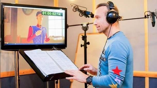 Олег Винник рассказал, как озвучил принца в мультфильме