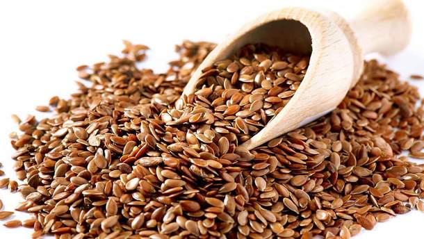 Насіння льону корисне для організму людини