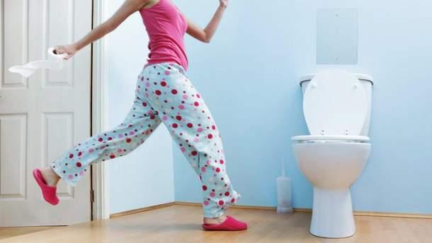 Основні причини нічної діареї