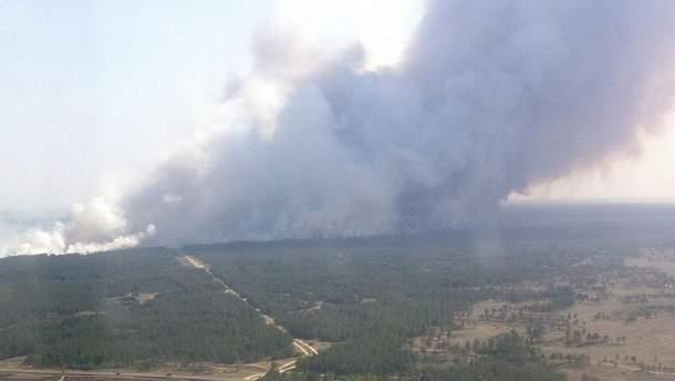 Пожар на Херсонщине