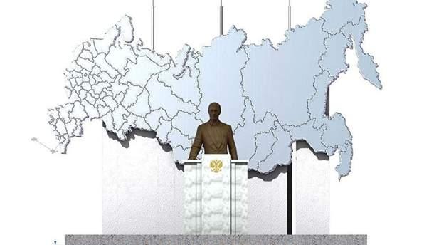 В РФ впервый раз установят монумент Путину