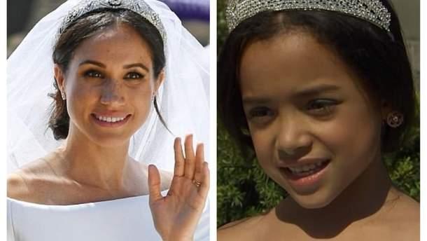 Найи Отеро повторила свадебный образ Меган Маркл
