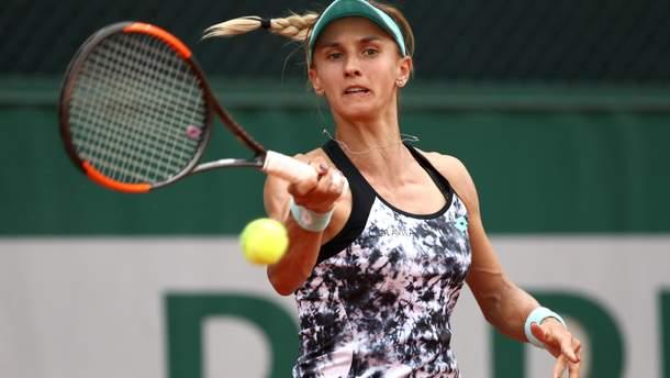 Леся Цуренко продолжает борьбу на Rolland Garros
