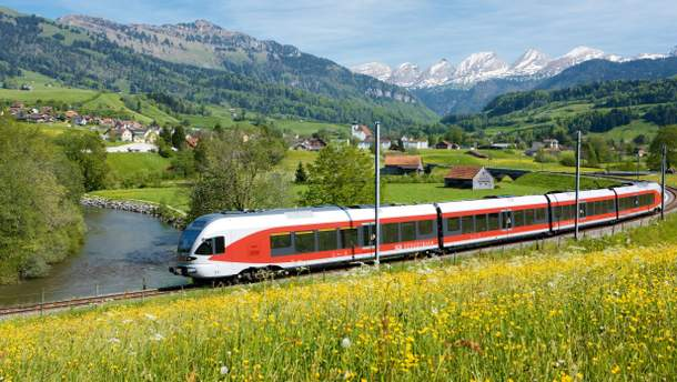 Швейцарська залізниця стала найкращою
