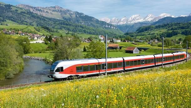 Швейцарская железная дорога стала лучшей