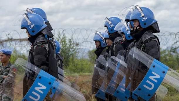 Миротворці ООн мають бути розміщені по усьому окупованому Донбасі