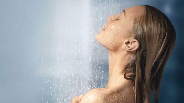 Принимать душ в жару опасно