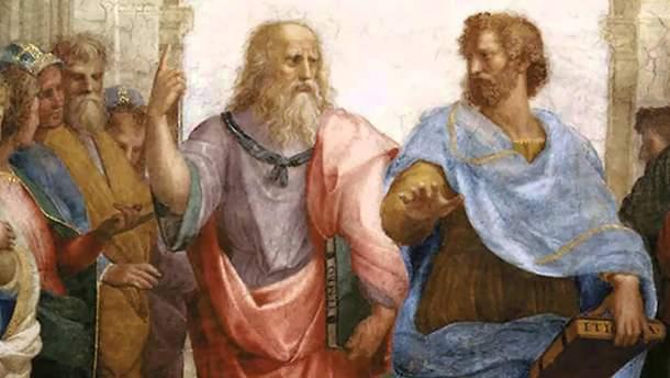 Платон та Арістотель