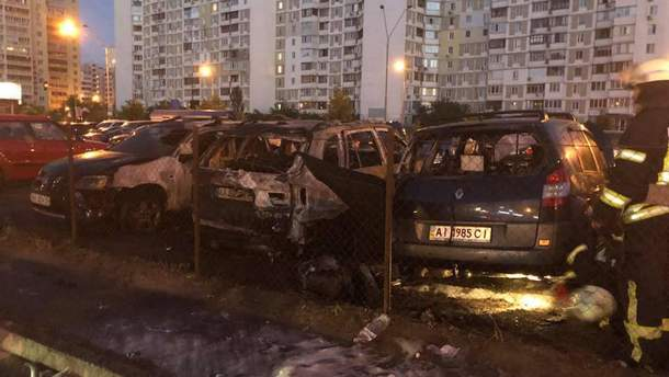 В Киеве сожгли авто помощника нардепа Игоря Мосийчука