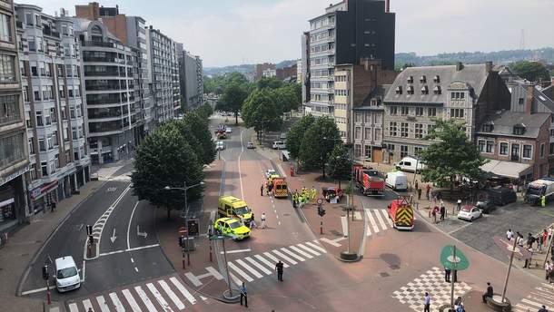 Нападение в бельгийском городе Льеж