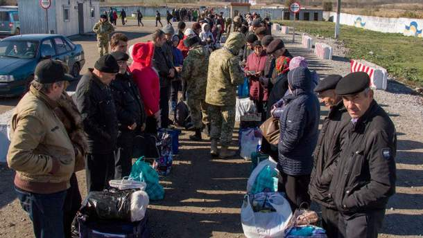 У Росію не пускають жителів окупованого Донбасу