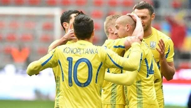 Товарищеский матч Украина - Марокко 30 мая 2018
