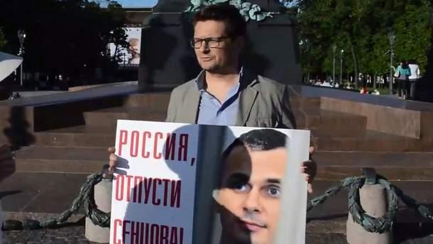 У Росії затримали режисера Антона Сушкевича