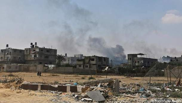 Ракетні удари по сектору Газа