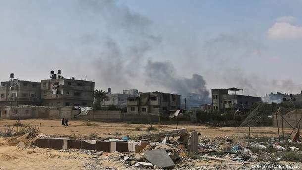 Ракетные удары по сектору Газа