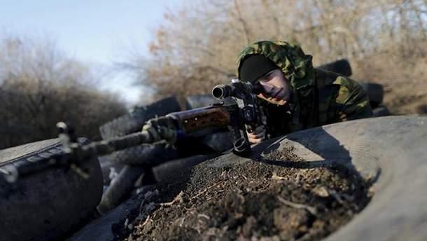 На Донбассе ликвидировали 4 снайперов боевиков