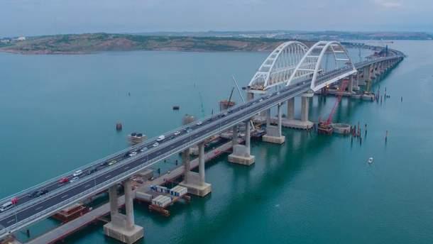 Росія збудувала Кримський міст, щоб забезпечувати військові угрупування на півострові