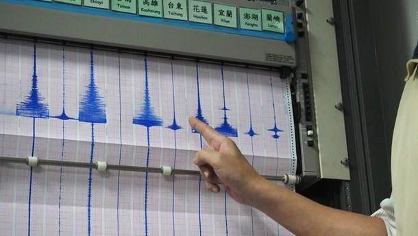 Землетрясение магнитудой 5,7 случилось насеверо-востоке Китайская республика