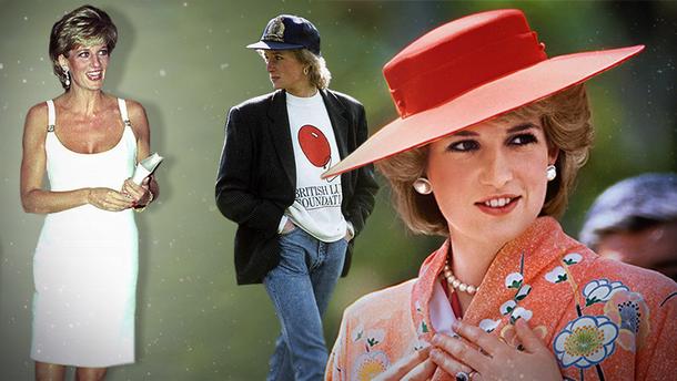 5 модных трендов, которые носила принцесса Диана