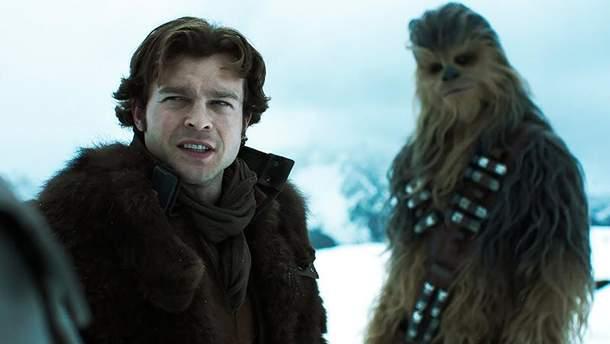 """Кадр из фильма """"Хан Соло. Звездные войны: Истории"""""""