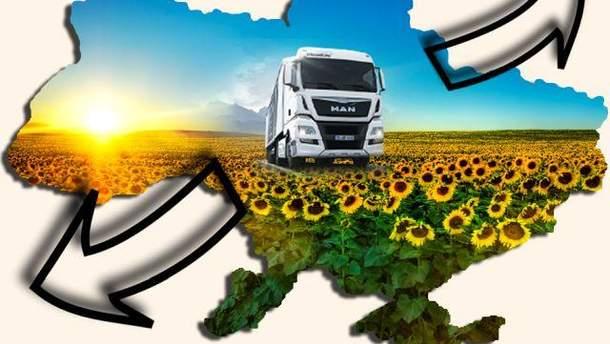 Украинский экспорт развивается