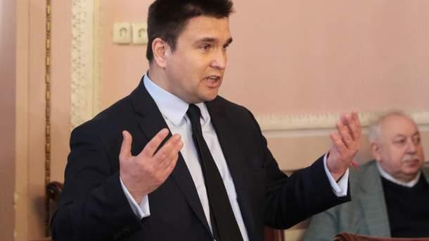 Климкин ответил на резонансное заявление Лаврова об особом статусе Донбасса