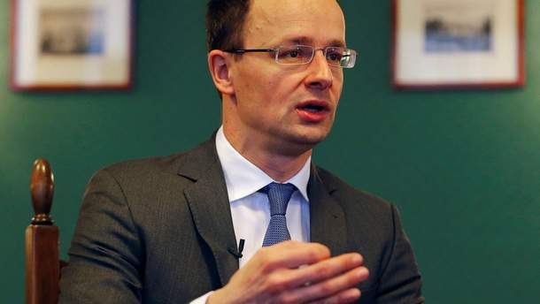 Сіярто запропонував Україні створити міжурядову робочу групу щодо мовного закону в освіті