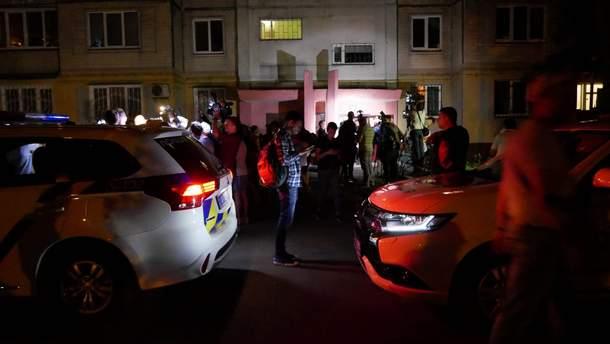 Место убийства Аркадия Бабченко