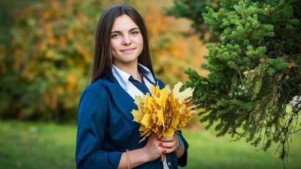 Фото загиблої на Донбасі дівчинки Дар'ї