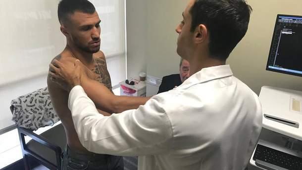 Украинский боксер Василий Ломаченко нуждается в операции на плече