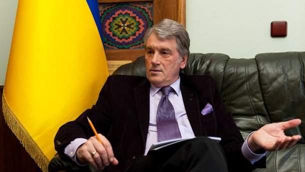 """Ющенко очолив наглядову раду """"Альпарі Банку"""""""