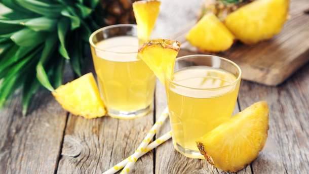 Ананасовый сок улучшает зрение