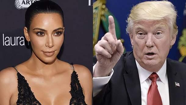 Ким Кардашян встретится с Дональдом Трампом