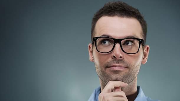 Люди с очками есть более умнее
