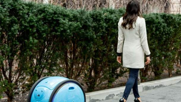 Создали робот-чемодан