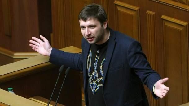 """Российская пропагандистка заживо """"похоронила"""" депутата Парасюка"""