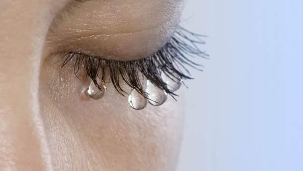 Чому сльозяться очі