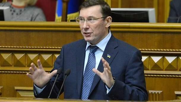 """""""Виконавець"""" замаху на Бабченка буде свідком у справі, – Луценко"""