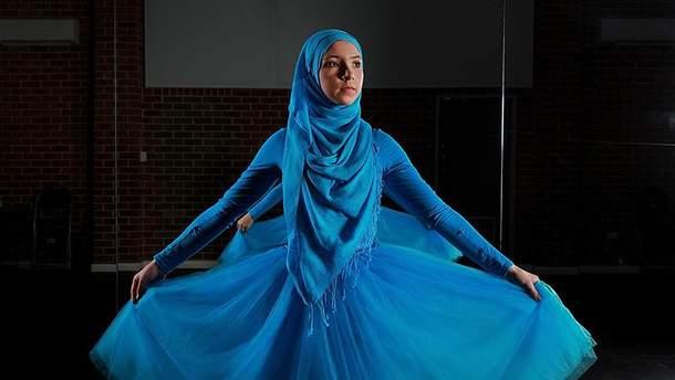 Стефани Курлоу стала первой мусульманской балериной