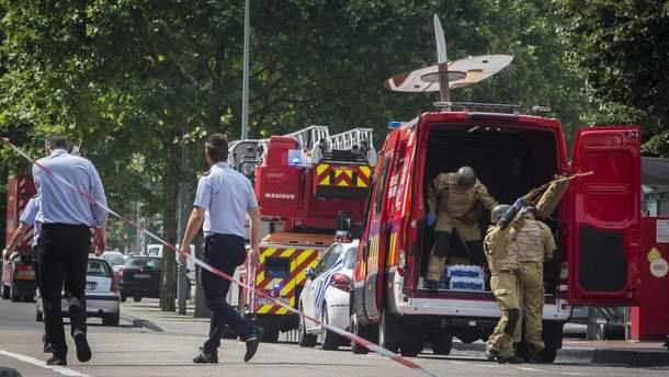 Теракт в Бельгии