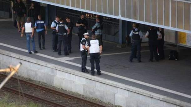 Смертельная стычка на вокзале в Германии