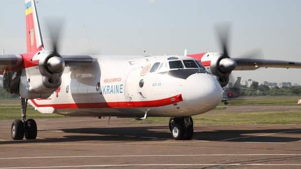 Украинский самолет вылетел в Беларусь за детьми, которые пострадали в ДТП в Беларуси