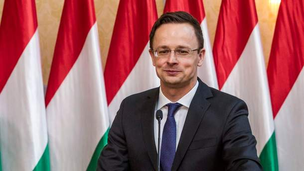 """Сийярто впервые похвалил украинское правительство за инициативу по изменению закона """"Об образовании"""""""