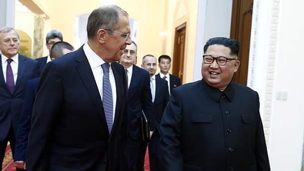 Лавров встретился с Ким Чен Ыном в Пхеньяне