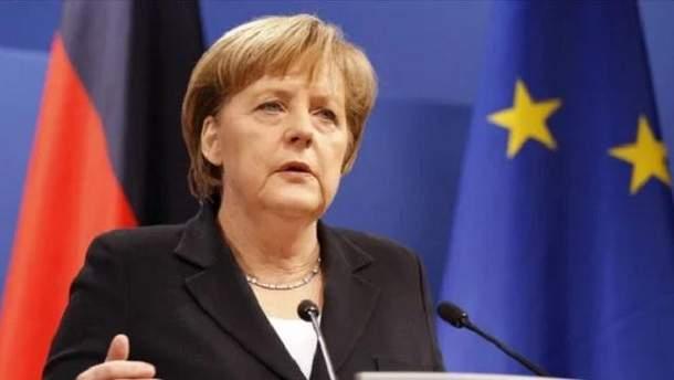 """Меркель назвала євро """"найкращою гарантією"""" миру в Європі"""