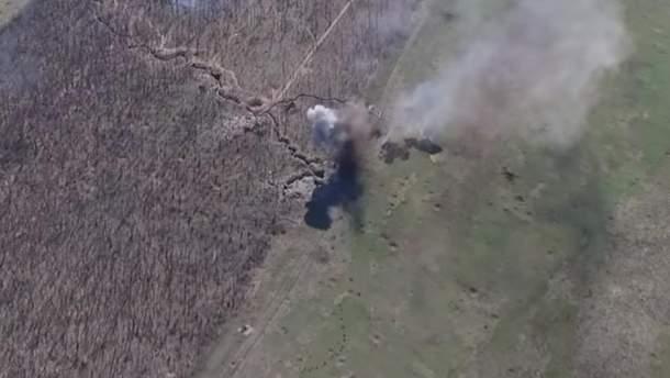Украинским военным удалось уничтожить одну из ведущих позиций врага на  Светлодарской дуге.