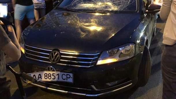 ДТП с кортежем Порошенко в Киеве