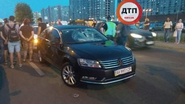 Водій автівки, яка збила дитину на велосипеді у Києві, дав коментар